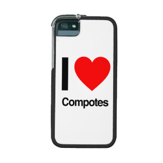 i love compotes case for iPhone 5/5S