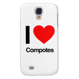 i love compotes samsung galaxy s4 cover