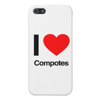 i love compotes iPhone 5 cover