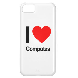 i love compotes iPhone 5C case