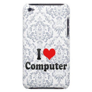 I love Computer Barely There iPod Case