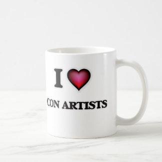 I love Con Artists Coffee Mug