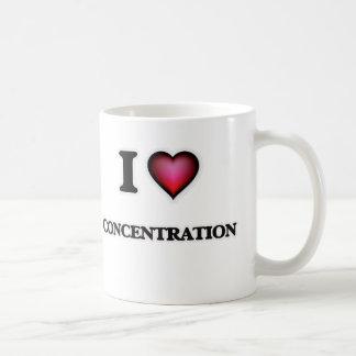 I love Concentration Coffee Mug
