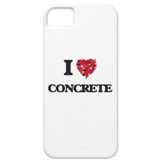 I love Concrete Barely There iPhone 5 Case