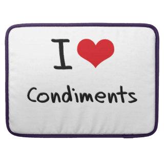 I love Condiments MacBook Pro Sleeves