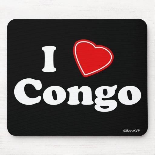 I Love Congo Mousepad