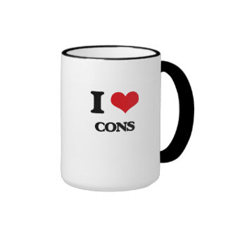 I love Cons Mugs