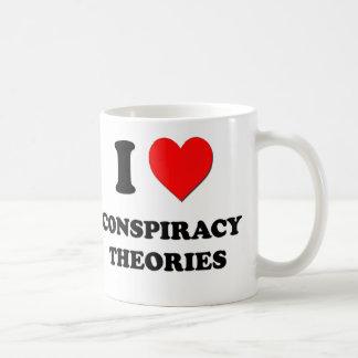 I love Conspiracy Theories Coffee Mug