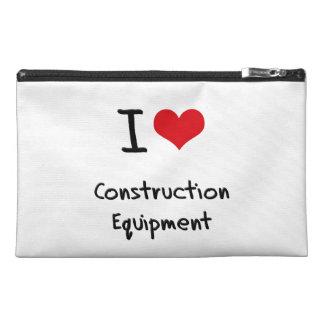 I love Construction Equipment Travel Accessory Bag