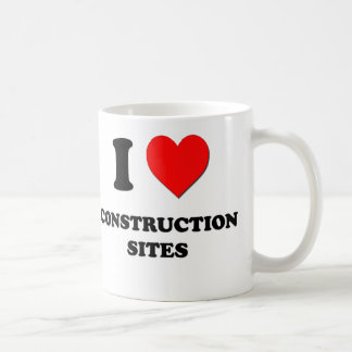 I love Construction Sites Coffee Mug