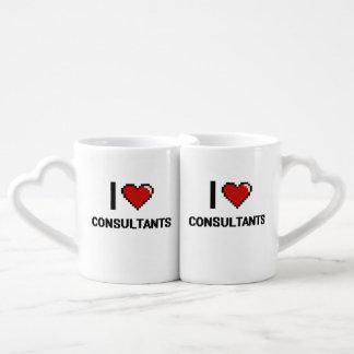 I love Consultants Lovers Mug Sets