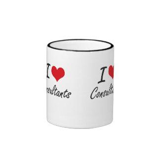 I love Consultants Ringer Mug
