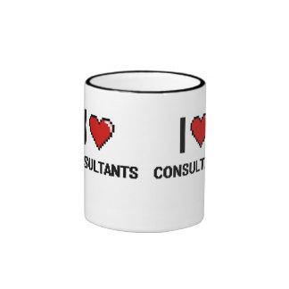 I love Consultants Ringer Coffee Mug