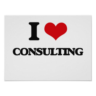 I love Consulting Print