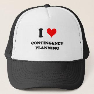 I Love Contingency Planning Trucker Hat