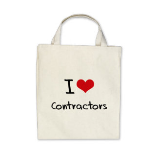 I love Contractors Bags