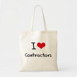 I love Contractors Budget Tote Bag