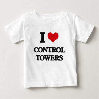 I love Control Towers Baby T-Shirt