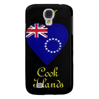 I love Cook Islands Galaxy S4 Case