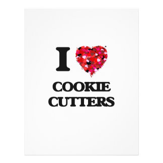I love Cookie Cutters 21.5 Cm X 28 Cm Flyer