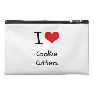 I love Cookie Cutters Travel Accessory Bags