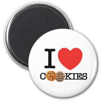 I Love Cookies Refrigerator Magnets