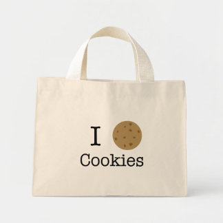 I love cookies mini tote bag