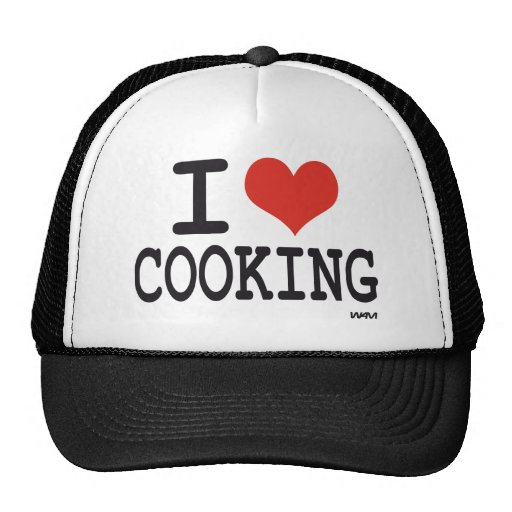 I LOVE COOKING HAT