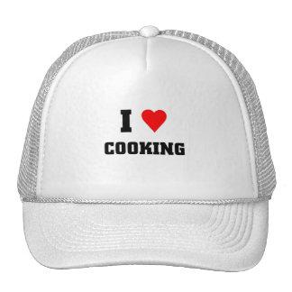 I love Cooking Trucker Hats