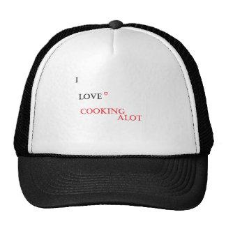 'I love cooking' item Cap