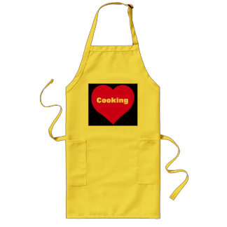 I love cooking kitchen apron