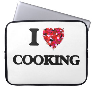 I love Cooking Laptop Computer Sleeve