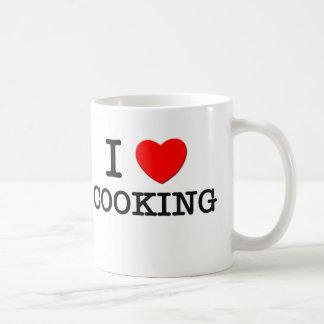 I Love Cooking Classic White Coffee Mug