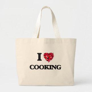 I love Cooking Jumbo Tote Bag