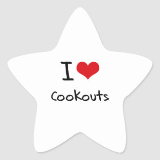 I love Cookouts Stickers