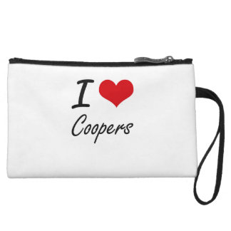 I love Coopers Wristlet Clutches