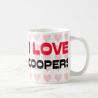 I LOVE COOPERS COFFEE MUG