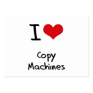 I love Copy Machines Business Card