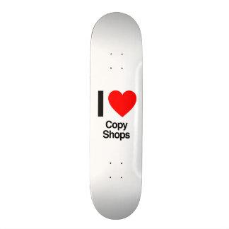i love copy shops skate board decks