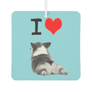 I love Corgi Butts Car Air Freshener