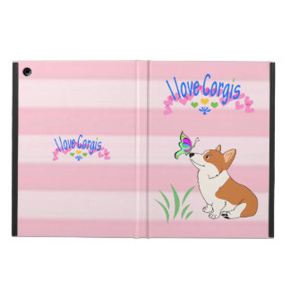 I Love Corgis iPad Air Cover