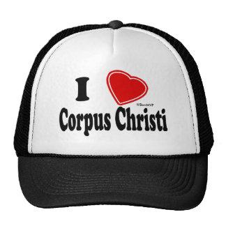 I Love Corpus Christi Cap