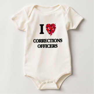 I love Corrections Officers Bodysuit