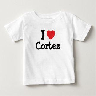 I love Cortez heart custom personalized T-shirts