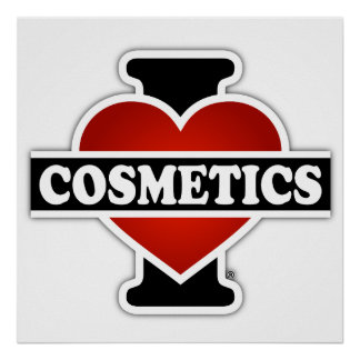 I Love Cosmetics Poster