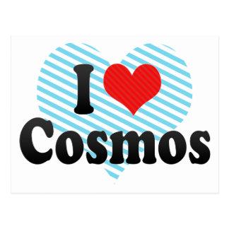 I Love Cosmos Postcard