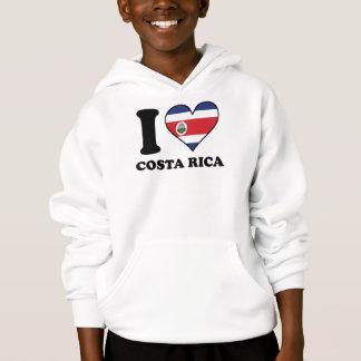 I Love Costa Rica Costa Rican Flag Heart
