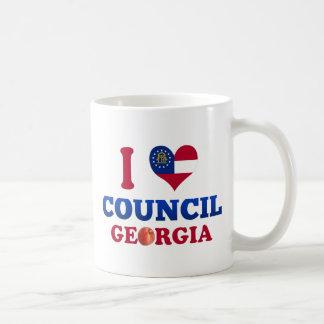 I Love Council, Georgia Coffee Mugs