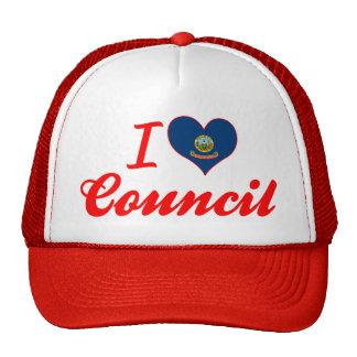 I Love Council, Idaho Mesh Hats