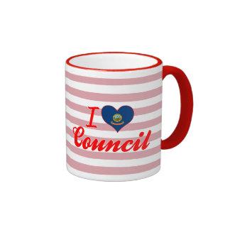 I Love Council, Idaho Coffee Mugs